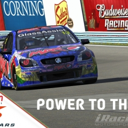"""iRacing: Power to the Max"" (V8 SuperCars Americas Sportsman Race at Watkins Glen Classic Boot)"