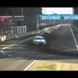 Project Cars race at Zolder (60fps)