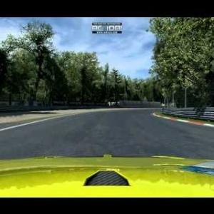 Monza Practice run