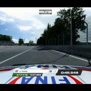 Raceroom Racing time trial on Norisring
