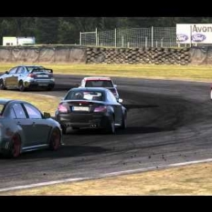 Project Cars race at Ruapuna Club circuit
