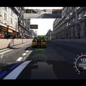 Grid Autosport Street Racing on the Champs-Élysées