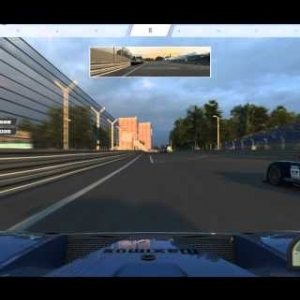 RaceRoom Racing Experience: A quick race with the Ford GT GT1 on the Norisring in Germany