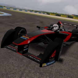 Assetto Corsa Formula E by Team AST and haunetal1990 Onboard Donington Park