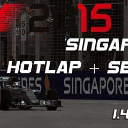 F1 2015 Hotlap Singapore + Setup 1.40,144 [PC]