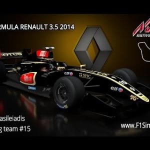 Assetto Corsa Formula Renault 3.5 Lotus Team #15 @ Monza