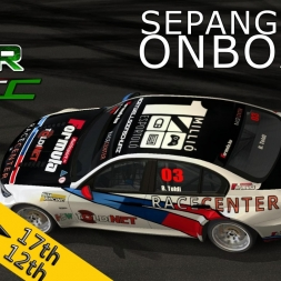 VSR HTCC 2014   Sepang International Circuit   Balazs Toldi OnBoard