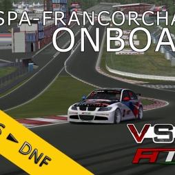 VSR HTCC 2014 | Spa-Francorchamps R1 | Balazs Toldi OnBoard