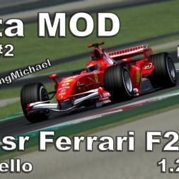 Assetto Corsa - F1sr Ferrari F248 Hotlap Mugello 1.23,017