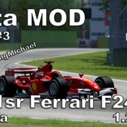 Assetto Corsa - F1sr Ferrari F248 Hotlap Imola 1.22,237