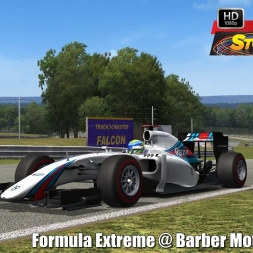 Formula Extreme @ Barber Motorsport Park Driver's View - Stock Car Extreme 60FPS