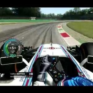 Assetto Corsa F1 2015 Bottas Onboard Monza