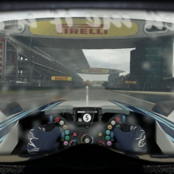 Williams FW37 China (Wet & Dry) Helmet Effect - F1 2015 60FPS
