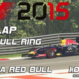 F1 2015 Hotlap + Setup  Austria 2014 with Red Bull 1.08,027 [PC]