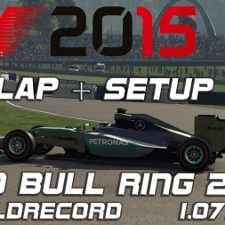 F1 2015 Hotlap + Setup Austria 2014 1.07,583 (Worldrecord)[PC]