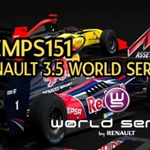 Assetto Corsa, Renault 3.5 world series Mod