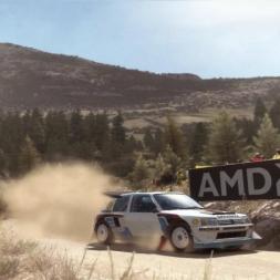 Peugeot 205 T16 Evo 2 @ Baumholder (Greece) - Dirt Rally 60FPS