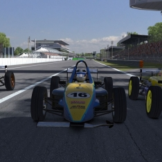 iRacing UK&I Skip Barber Round 12 at Monza
