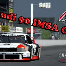 Assetto Corsa * Audi 90 IMSA GTO * Goodwood