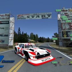 Assetto Corsa * Pikes Peak * Ford Zakspeed Turbo Capri Gr.5 Würth [60fps]
