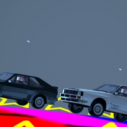 Assetto Corsa Multiplayer: Rainbow Road (Short film)