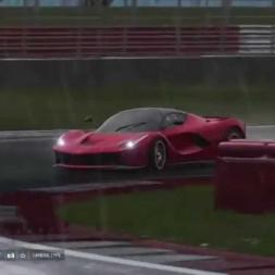 Forza 6 Silverstone Rain LaFerrari
