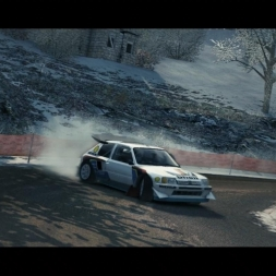 Peugeot 205 T16 EVO 2 @ Col St Roch (Monte Carlo) - DiRT 3 Complete Edition 60FPS (Replay)
