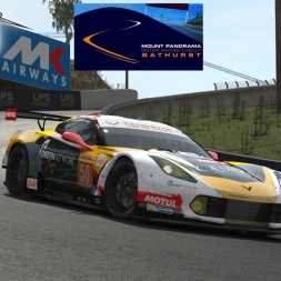 Rfactor 2 Gameplay Corvette C7R @ Mount Panorama Bathurst