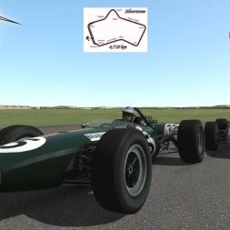 Rfactor 2 Brabham Repco BT20 @ Silverstone GP 1975