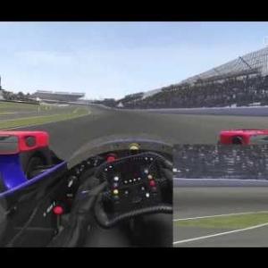 Indianapolis 50 lap Indycar race (60fps)