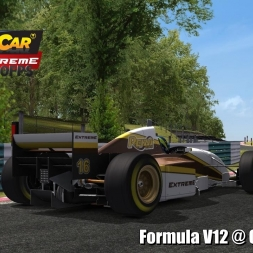 Formula V12 @ Cadwell Park Driver's View - Stock Car Extreme 60FPS