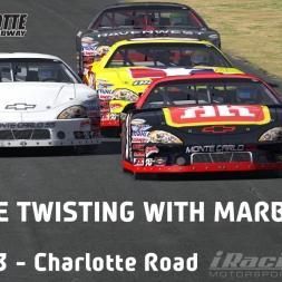 """iRacing: Tube Twisting with Marbles"" (Late Model at Charlotte Motor Speedway - Road Course)"