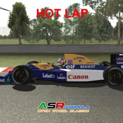 Rfactor 2 Gameplay Williams Renault FW14 @ Autodromo Hermanos Rodriguez Classic Version