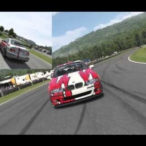 Forza 6 BMW M5 race at Lime Rock Park (60fps)