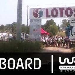 WRC - LOTOS 72nd Rally Poland 2015: Tänak Onboard SS19