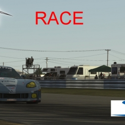 Rfactor 2 Gameplay Race Chevrolet Corvette V1.62 @ Sebring 5 Laps