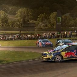 Ford Fiesta WRX @ Lydden Hill (England) Rallycross Final - Dirt Rally 60FPS