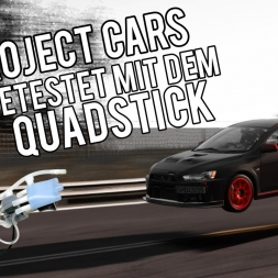 Let's Play | Project CARS | Getestet mit dem Quadstick