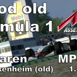 Assetto Corsa - McLaren MP4/13 Hotlap old Hockenheimring (1.43,076)