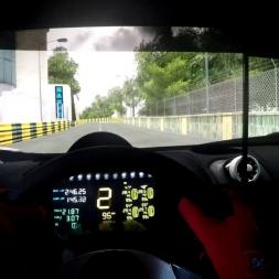 Assetto Corsa - Mclaren mp4-12c gt3 @ Macau - Onboard triple screen