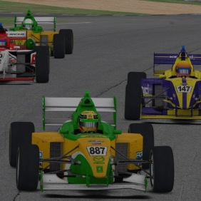 AOR iRacing Pro Mazda Championship S4 Round 1: Road Atlanta