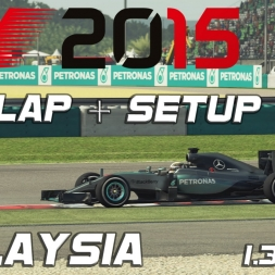 F1 2015 Hotlap + Setup Malaysia 1.35,654 [PC][60FPS]