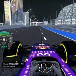 Assetto Corsa F1 2015 Ricciardo Onboard Singapore