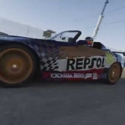 Forza 6 10 lap race at Sebring Club replay (60fps)