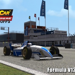 Formula V12 @ Mantorp Driver's View - Stock Car Extreme 60FPS