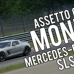 Assetto Corsa | Mercedes Benz SLS AMG | Monza