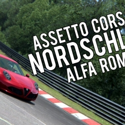 Assetto Corsa | Nordschleife | Alfa Romeo 4C