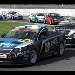 iRacing BSRTC Round 67 from Silverstone National