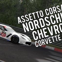 Assetto Corsa | Nordschleife | Chevrolet Corvette C7R GTE