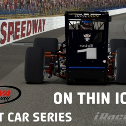 """iRacing: On Thin Ice"" (Sprint Cars at Iowa Speedway)"